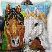 kruissteekkussen 9550 paarden