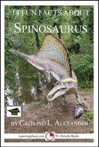 Boek cover 14 Fun Facts About Spinosaurus: Educational Version van Caitlind L. Alexander