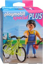Playmobil Klusjesman met fiets - 4791