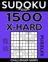 Sudoku Book 1,500 Extra Hard Puzzles