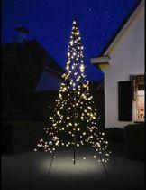 Fairybell Kerstverlichting - 300 cm - Warm wit - 360 LEDs - LED Kerstboom