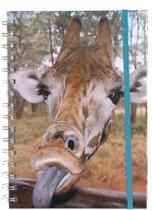 The Comedy Wildlife Notitieboek A5 Giraf