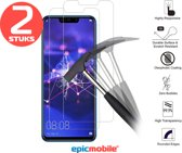 Epicmobile - 2Pack Huawei Mate 20 Lite Screenprotector - Tempered Glass – 2Pack voordeelbundel