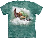 The Mountain T-shirt Surfin' Sea Turtle M