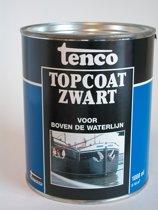 Tenco Topcoat - Zwart - 2,5 l