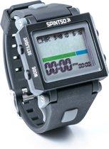 Spintso 2S - Scheidsrechtershorloge - 42 x 35 mm - zwart grijs