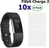 Beschermfolie voor Fitbit Charge 2 - 10x Blisters (60 stuks)