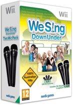 We Sing Down under + 2 Microphones - Wii