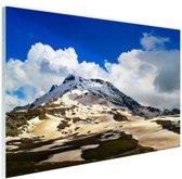 Himalaya bij Manali India Glas 90x60 cm - Foto print op Glas (Plexiglas wanddecoratie)