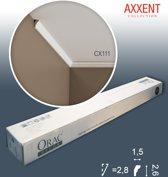 1 doos 10 Kroonlijsten Origineel Orac Decor CX111 AXXENT Plafondlijsten Sierlijsten 20 m
