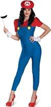 Mario Deluxe� verkleedkostuum voor dames   - Verkleedkleding - Large