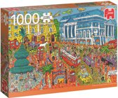 Piccadilly Circus London Premium Quality - Puzzel 1000 stukjes