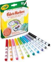 Crayola - Textielstiften (10St.)