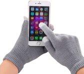 GadgetBay Winter touchscreen handschoenen grijs wol