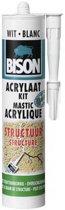Bison Acrylaatkit Structuur - Wit - 310 ml