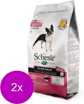 Schesir Toy Adult - Hond - Droogvoer - Monoprotein - 2 x 2 kg