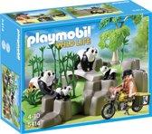 Playmobil Pandafamilie in Bamboebos - 5414