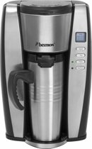 Bestron ACUP650 - Personal Thermo Koffiezetter met Timer RVS