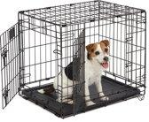 Hondenbench - Zwart - S - 63 x 44 x 50 cm