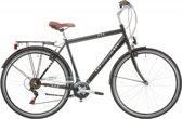 Heren - jongens fiets Excel Central Park black 28 inch H53 18 versnellingen