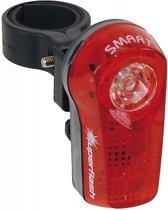 Smart Superflash - Achterlicht - Led - Batterij -  0.5 watt - Zwart;Rood