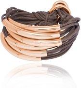 TOV Essentials Big Lots Of Cord Tube Armband 1632.004.048