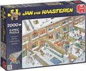 Jan van Haasteren Kerstavond - Puzzel 2000 stukjes