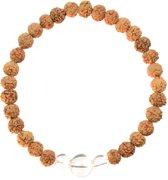 Bergkristal Mala Armband | Alniyat | XL - 21 cm