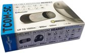 Bluetooth motor intercom TCOM-SC MET LCD SCHERM  interphone headset 1000meter met ingebouwde FM radio  1 module