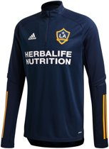 ADIDAS LA Galaxy Trainingstop Heren - Blauw - Maat XS