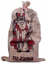 Jute zak voor Sinterklaas 60 x 102 cm