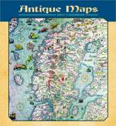 Antique Maps 2017 Wall Calendar