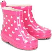 Playshoes Regenlaarzen Kinderen Stippen - Roze - maat 27