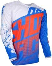 Shot Kinder Crossshirt Devo Venom Blue/White/Neon Orange-XL