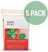 5X Care Plus Reddingsdeken / isolatiedeken - Voordeelverpakking