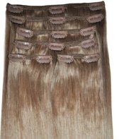 Clip In Hair Extensions BIGSET Brunette 260gram 60cm 100%human hairextensions