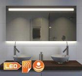 Design badkamer spiegel met hi-power LED verlichting verwarming en dimfunctie 120x70 cm
