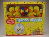 Musical Eenden mobile Hello World