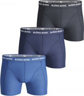 Bjorn Borg 3p SHORTS NOOS SOLIDS - Sportonderbroek casual - Mannen - blauw - L