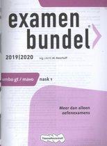 Boek cover Examenbundel vmbo-gt/mavo Nask 1 2019/2020 van J.A.F.C.M. Meerhoff (Paperback)