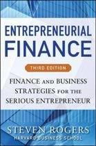 Entrepreneurial Finance, Third Edition