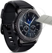 Samsung Gear S3 Frontier Screenprotector - Tempered Glass Gehard Glas - Case Friendly - iCall