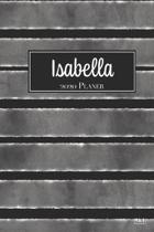 Isabella 2020 Planer: A5 Minimalistischer Kalender Terminplaner Jahreskalender Terminkalender Taschenkalender mit Wochen�bersicht