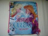 Gymtas van Disney Frozen ,Sister Queens