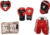 AA Products - Pro Boksen Trainig Set - Boxing Set - Rood