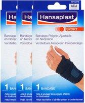 Hansaplast Sport Verstelbare Neopreen Polsbandage Voordeelverpakking