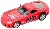 Johntoy Super Cars Die-cast Auto Rood 10 Cm