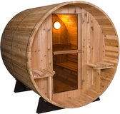 Barrel Sauna Rustic 7+1Ft - Fonteyn
