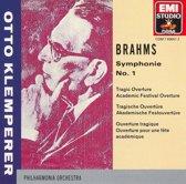 Brahms: Symphonie No. 1; Ouverturen