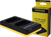 PATONA Dual Quick-Charger f. Sony NP-BX1, NPBX1